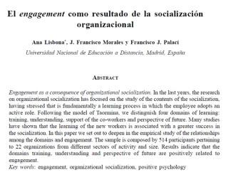 engagementsocializacionorganizacional